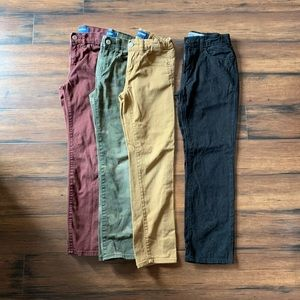 ✨4pc Old Navy Boys pant bundle Sz8✨